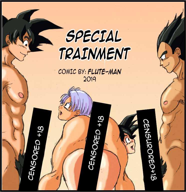 Comic - Special Trainment - Flute-man (English)