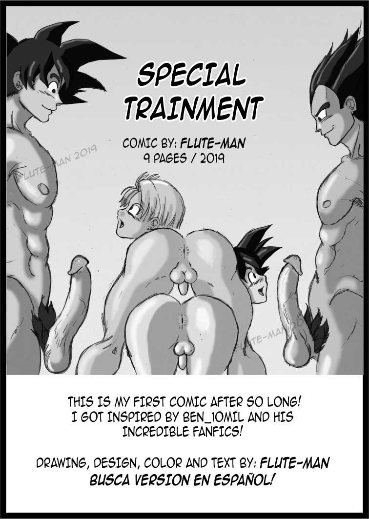 Comic - Special Trainment - Flute-man (English)