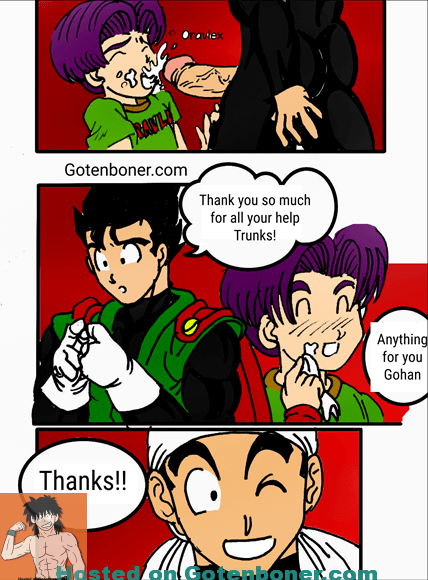 Download Fixing Gohan's Suit - English in Color - Oravlex