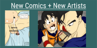 New dbz gay artists and Comics added April 2019