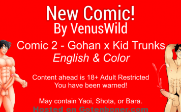 New comic - Venus Wild comic 2 english