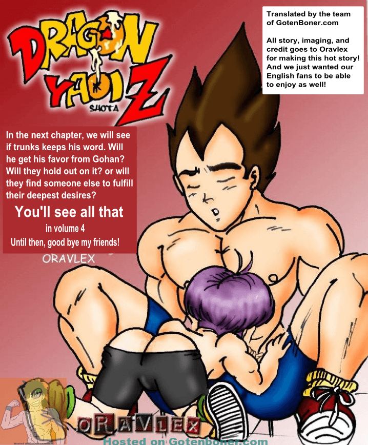 Volume 4 - Vegeta and Trunks in Color – Comic by Oravlex [English]