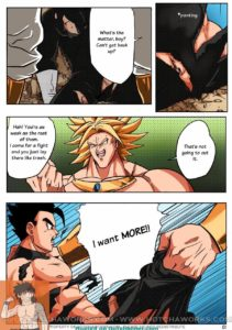 DBZ Strike Comic by Hotcha - Page 01