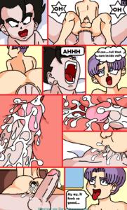 VenusWild – Comic #2 [English Color] Gohan x Kid Trunks
