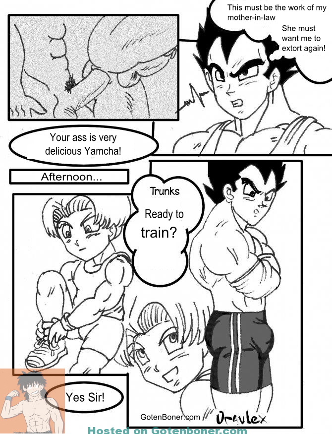 """Download """"Volume 4 - Vegeta and Trunks"""" – Comic by Oravlex [Translated to English]"""